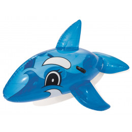 Bestway - Wieloryb do pływania - niebieski 157cm - 41037