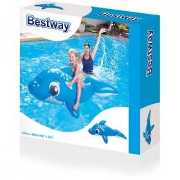BESTWAY 41087 Dmuchany Delfin z uchwytami