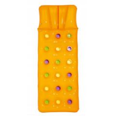 Bestway - Dmuchany materac plażowy 188 cm x 71 cm - pomarańczowy - 43014