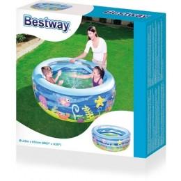 """BESTWAY 51028 Basen Nadmuchiwany 400l """"Summer Wave"""""""