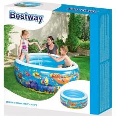 BESTWAY 51121 Basen Dmuchany 400l