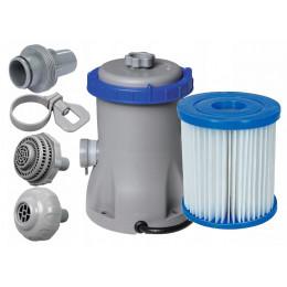Bestway - Pompa z filtrem do basenu 1249l/h – 58381