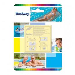 Bestway - Zestaw łatek samoprzylepnych - 10 szt. - 62068