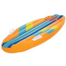Bestway - Dmuchana deska do pływania dla dzieci - POMARAŃĆZOWO-NIEBIESKA- 42046