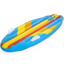 Bestway - Dmuchana deska do pływania dla dzieci - NIEBIESKA-ŻÓŁTA- 42046