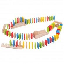 BIgJigs - Drewniane domino z akcesoriami - BJ558