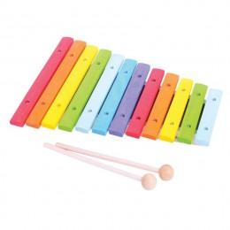 BigJigs - Drewniany ksylofon - Cymbałki BJ660