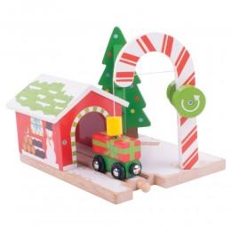 BigJigs - Cukierkowy dźwig - Zestaw świąteczny BJT249