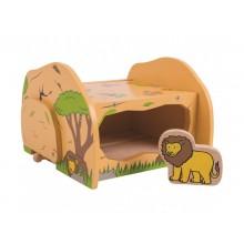 BigJigs - Jaskinia lwów Safari - dodatek do kolejki BJT275