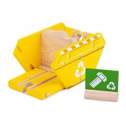 BigJigs – Kontener na odpady do kolejek drewnianych BJT281