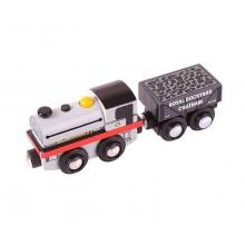 BigJigs - Pociąg drewniany - replika Peckett & Sons BJT460
