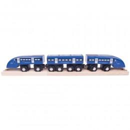 BigJigs - Drewniany pociąg High Speed - BJT475