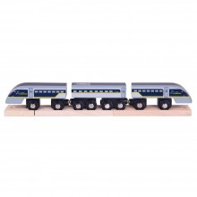 BigJigs - Drewniany pociąg Eurostar - BJT476