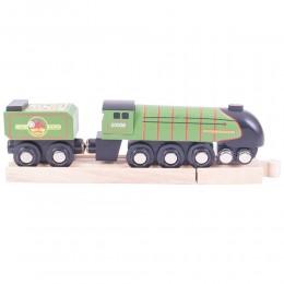 BigJigs - Pociąg drewniany - replika lokomotywy Eisenhower - BJT480