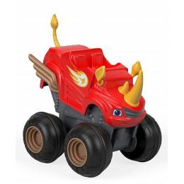 Blaze i mega maszyny - Naciśnij i jedź - Rhino Blaze Nosorożec - FHV04