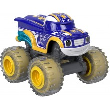 Blaze i mega maszyny - Robot Rider Darington - Samochodzik die-cast FNR37