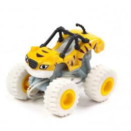 Blaze i mega maszyny - Snow Racers – Plastikowe autko Stripes – GGW81