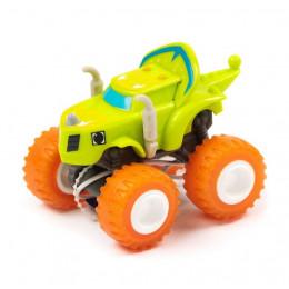 Blaze i mega maszyny - Fire Riders – Plastikowe autko Zeg – GGW83