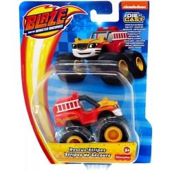 Blaze i Mega Maszyny – Metalowe autko – Rescue Stripes GYC99