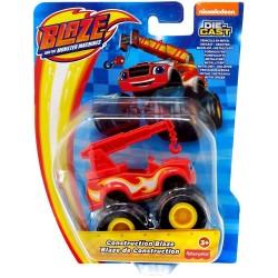 Blaze i Mega Maszyny – Metalowe autko – Budowniczy Blaze GYD02
