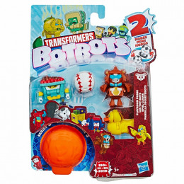 Transformers - BotBots - Seria 3 - 5 figurek Playroom Posse Zestaw 2 E4141