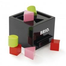 BRIO 30144 Drewniany sorter kształtów z klockami