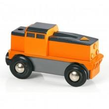 BRIO 33215 Lokomotywa na Baterię Pomarańczowa