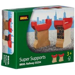 BRIO Superwsporniki pod tory 33254