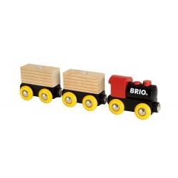 BRIO 33409 Kolejka - Klasyczny drewniany pociąg