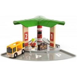 BRIO 33427 Stacja kolejowa i autobusowa