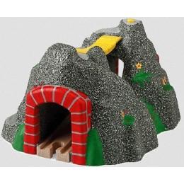 BRIO 33481 Tunel z mostem i dźwiękami