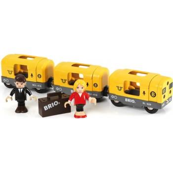 BRIO Pociąg Metro Lokmotywa Wagony 33507