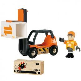 BRIO Wózek Widłowy 33573
