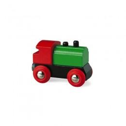 BRIO 33610 Klasyczna lokomotywa drewniana