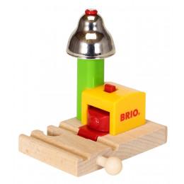 BRIO 33707 Mój pierwszy dzwonek do kolejki drewnianej