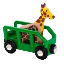 BRIO 33724 Wagon z Żyrafą