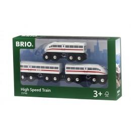 BRIO Pociąg Ekspresowy z dźwiękiem 33748