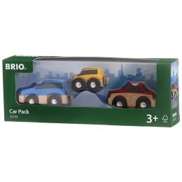 BRIO Samochodziki 3-pak 33759