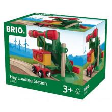 BRIO Stacja Załadunkowa + wagonik 33792