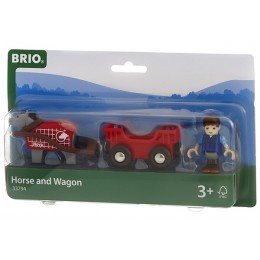 BRIO 33794 Wóz Konny z figurką