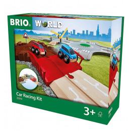 BRIO 33819 Zestaw do wyścigów samochodowych