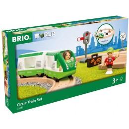 BRIO 33847 Zestaw torów z dodatkami – Koło