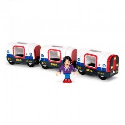 BRIO 33867 Dodatek do kolejki - pociąg metra