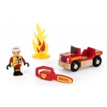 BRIO 33876 Mały zestaw strażacki