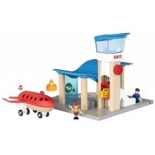 BRIO 33883 Lotnisko z wieżą kontroli lotów