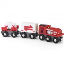 BRIO 33888 Pociąg towarowy z wagonami