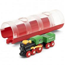 BRIO 33892 Lokomotywa parowa z tunelem