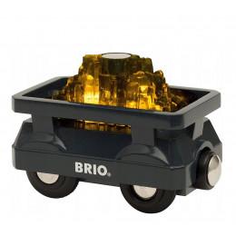 BRIO 33896 Świecący wagon ze złotem