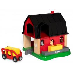 BRIO 33936 SmartTech™ - Farma ze zwierzątkami