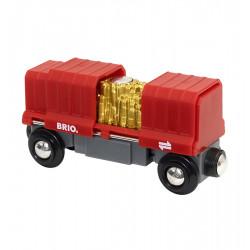 BRIO 33938 Wagon ze złotem